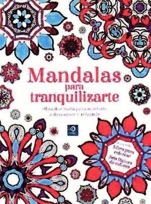 MANDALAS PARA TRANQUILIZARTE (CAJA LIBRO + 6 LAPICES)