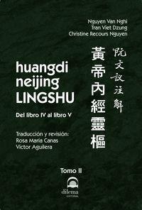 HUANGDI NEIJING LINGSHU TOMO II