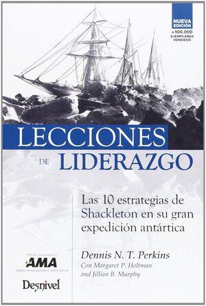LECCIONES DE LIDERAZGO