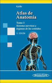ATLAS DE ANATOMIA CON CORRELACION CLINICA T.3 SISTEMA NERVIOSO Y ORGANOS DE LOS SENTIDOS