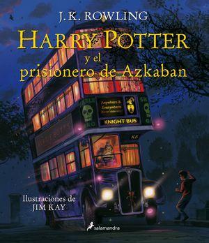 HARRY POTTER Y EL PRISIONERO DE AZKABAN (ILUSTRADO)