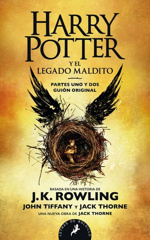 HARRY POTTER Y LEGADO MALDITO