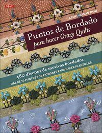 PUNTOS DE BORDADO PARA HACER CRAZY QUILTS