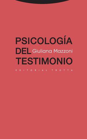 PSICOLOGIA DEL TESTIMONIO