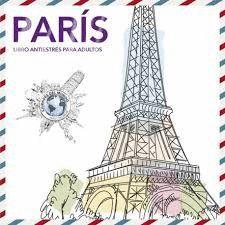 PARIS. LIBRO ANTIESTRES PARA ADULTOS