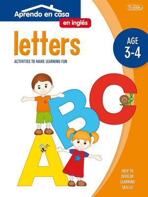 APRENDO EN CASA INGLÉS (3-4 AÑOS) LETTERS