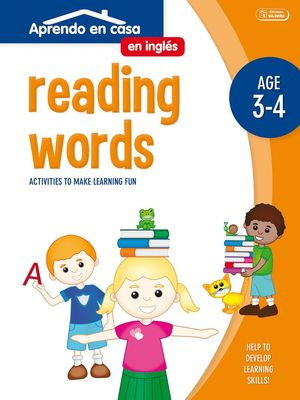ACTIVIDADES EN INGLÉS (3-4 AÑOS) READING WORDS