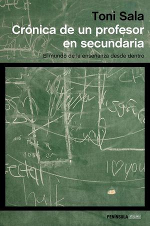 CRÓNICA DE UN PROFESOR EN SECUNDARIA