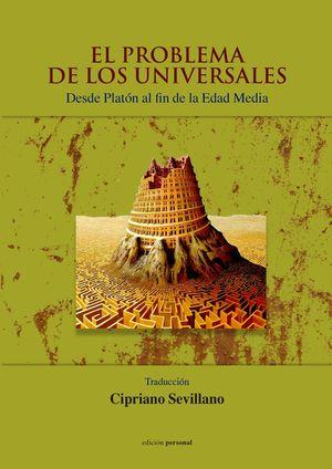 PROBLEMA DE LOS UNIVERSALES, EL