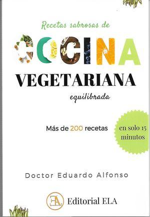 RECETAS SABROSAS DE COCINA VEGETARIANA EQUILIBRADA