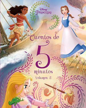 PRINCESAS CUENTOS DE 5 MINUTOS. VOLUMEN 2
