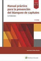 MANUAL PRÁCTICO PARA LA PREVENCIÓN DEL BLANQUEO DE CAPITALES + CD