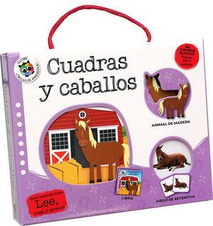 CUADRAS Y CABALLOS (CAJA)