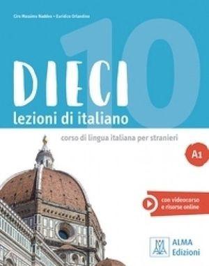 DIECI LEZIONI DI ITALIANO A1 ALUM+DVD