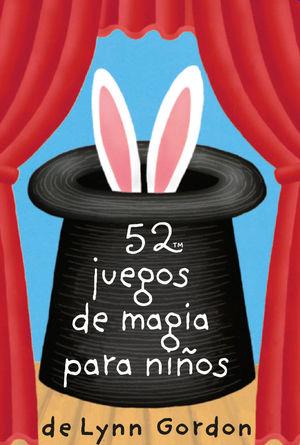 52 JUEGOS DE MAGIA PARA NIÑOS (CAJA)