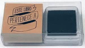 SELLO EX-LIBRIS. FONDO BLANCO