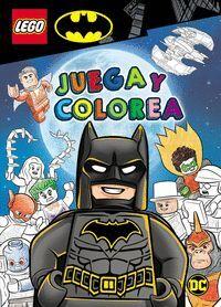 BATMAN LEGO. JUEGA Y COLOREA. LEGO BATMAN