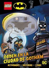 ORDEN EN LA CIUDAD DE GOTHAM. BATMAN LEGO