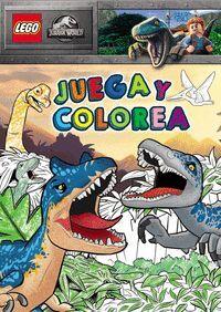 JUEGA Y COLOREA. LEGO JURASSIC WORLD