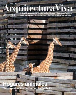 ARQUITECTURA VIVA N.206.7-8/2018 HOGARES ANIMALES