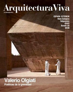 ARQUITECTURA VIVA N.219 VALERIO OLGIATI