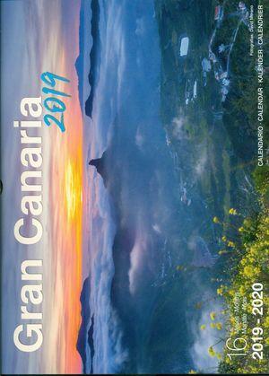 Calendario 2020 16.Calendario Gran Canaria 2019 2020 16 Meses Libreria Canaima