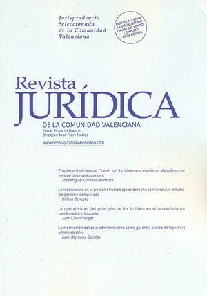 REVISTA JURIDICA DE LA COMUNIDAD VALENCIANA N 62