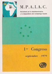 M.P.A.I.A.C. PRIMER CONGRESO SEPTIEMBRE 1979