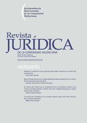 REVISTA JURIDICA DE LA COMUNIDAD VALENCIANA N.65