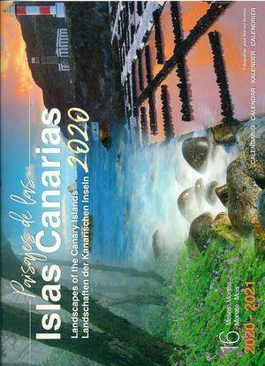 CALENDARIO PAISAJES DE LAS ISLAS CANARIAS 2020 (GRANDE) (16 MESES)