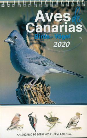 CALENDARIO AVES DE CANARIAS 2020 (SOBREMESA)