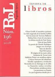 REVISTA DE LIBROS N.196
