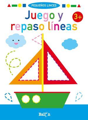 JUEGO Y REPASO LINEAS. 3+
