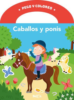 PEGO Y COLOREO - CABALLOS Y PONIS
