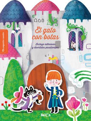 EL GATO CON BOTAS. INCLUYE ADHESIVOS Y DIVERTIDOS PASATIEMPOS