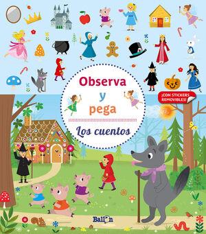 OBSERVA Y PEGA - LOS CUENTOS