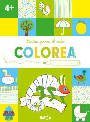 LISTOS PARA EL COLE! COLOREA +4