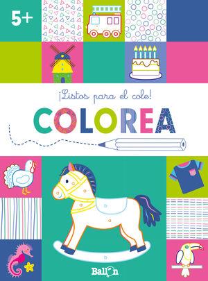 LISTOS PARA EL COLE! COLOREA +5
