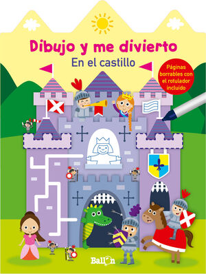 DIBUJO Y ME DIVIERTO EN EL CASTILLO