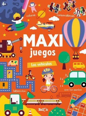 MAXI JUEGOS. LOS VEHICULOS