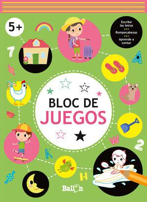 BLOC DE JUEGOS. 5 AÑOS