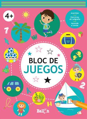 BLOC DE JUEGOS. 4 AÑOS