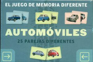 JUEGO DE MEMORIA DIFERENTE AUTOMOVILES