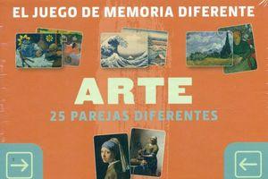 EL JUEGO DE MEMORIA DIFERENTE - ARTE