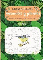 DIBUJAR EN 10 PASOS ANIMALES Y PLANTAS