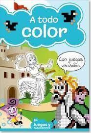 A TODO COLOR. JUEGOS Y PASATIEMPOS 8. CON JUEGOS VARIADOS