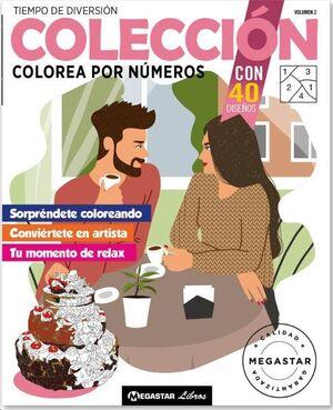 COLECCIÓN COLOREA POR NUMEROS 02