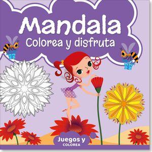 MANDALA.COLOREA Y DISFRUTA