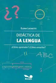 DIDACTICA DE LA LENGUA