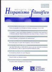 REVISTA DE HISPANISMO FILOSOFICO N.21